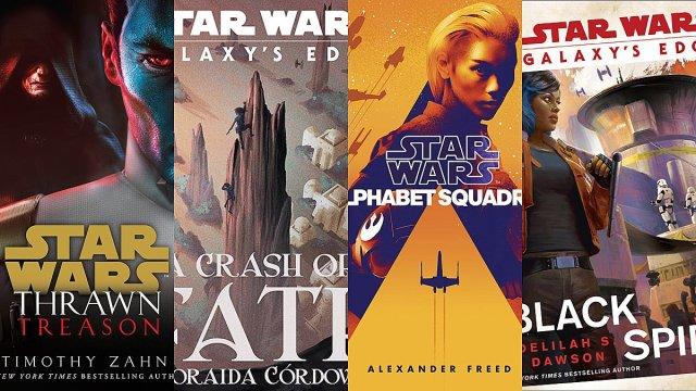 Star Wars Novel Covers, Images: Del Rey/Disney Lucasfilm Press