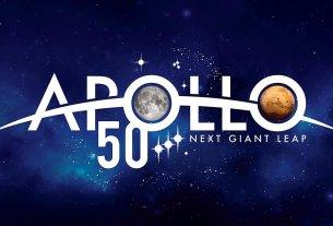 Apollo 50th Anniversary Logo, Image: NASA (Used Under Fair Use)