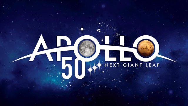 Apollo 50th Anniversary Logo, Image: NASA (Used Under Fair Use)