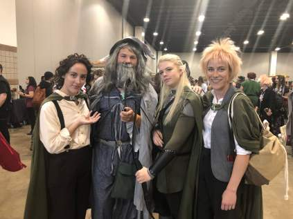 A great Fellowship of the Ring!