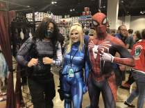 Friends who cosplay together stay together! A great Avengers group!