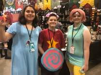 My youngest is still a huge Steven Universe fan, so we loved seeing this group!
