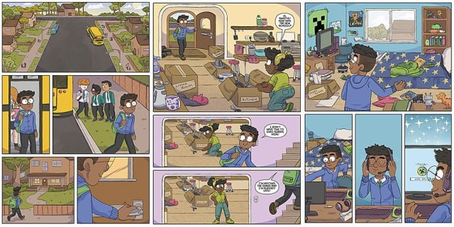 Minecraft Sample Pages, Images: Dark Horse