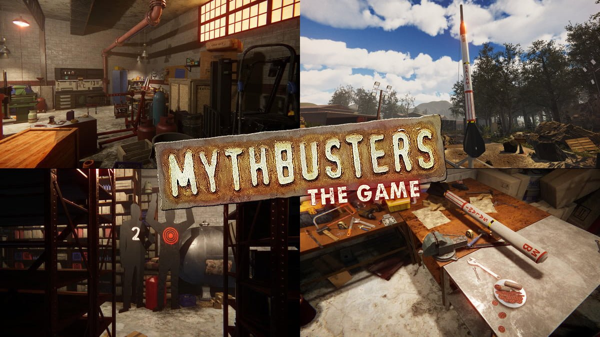Mythbusters: The Game, Images: PlayWay