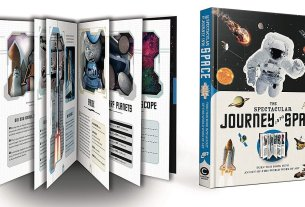 The Spectacular Journey Into Space, Image: Carlton Books