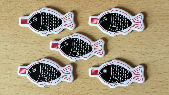 Soy Sauce Fish Markers, Image: Sophie Brown