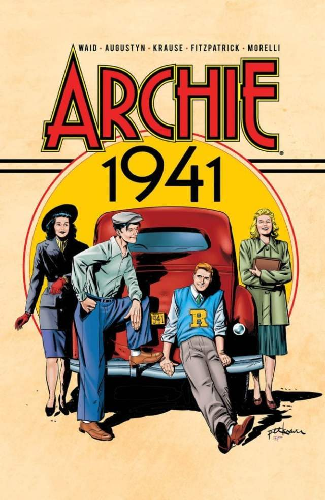 'Archie 1941' Trade Paperback Cover Art