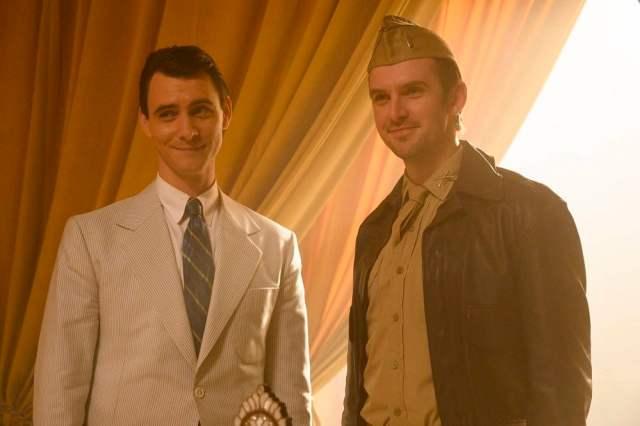 Harry Lloyd as Charles Xavier and Dan Stevens as David Haller