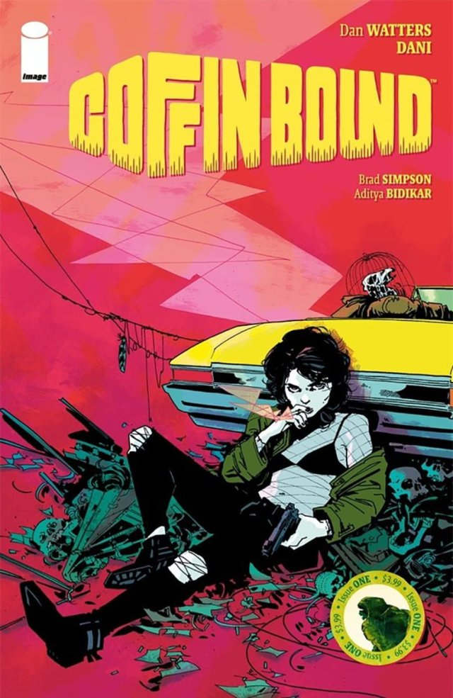 'Coffin Bound #1' Covert Art