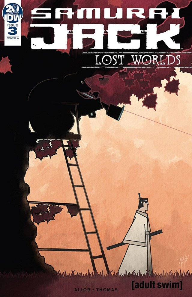 'Samurai Jack Lost Worlds #3' Cover Art