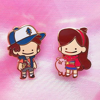 Gravity Falls Pins by Magical Maidens, Image: Magical Maidens