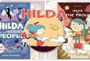 Hilda Books, Images: Flying Eye Books