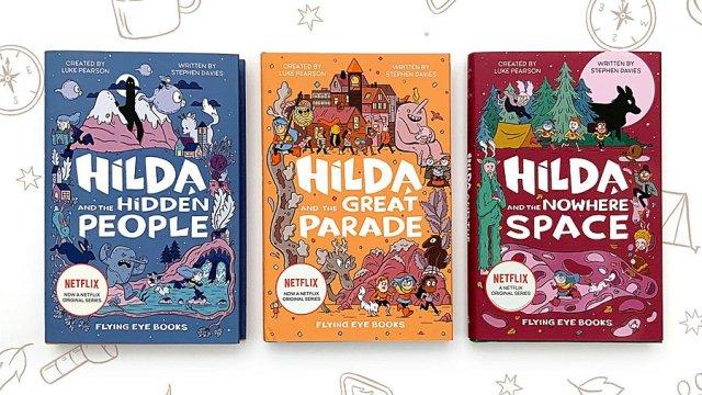 Hilda Chapter Books, Image: Flying Eye Books