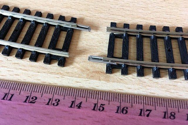 Hornby 00 Track Connectors, Image: Sophie Brown