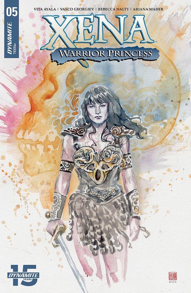 'Xena: Warrior Princess #5' Cover Art