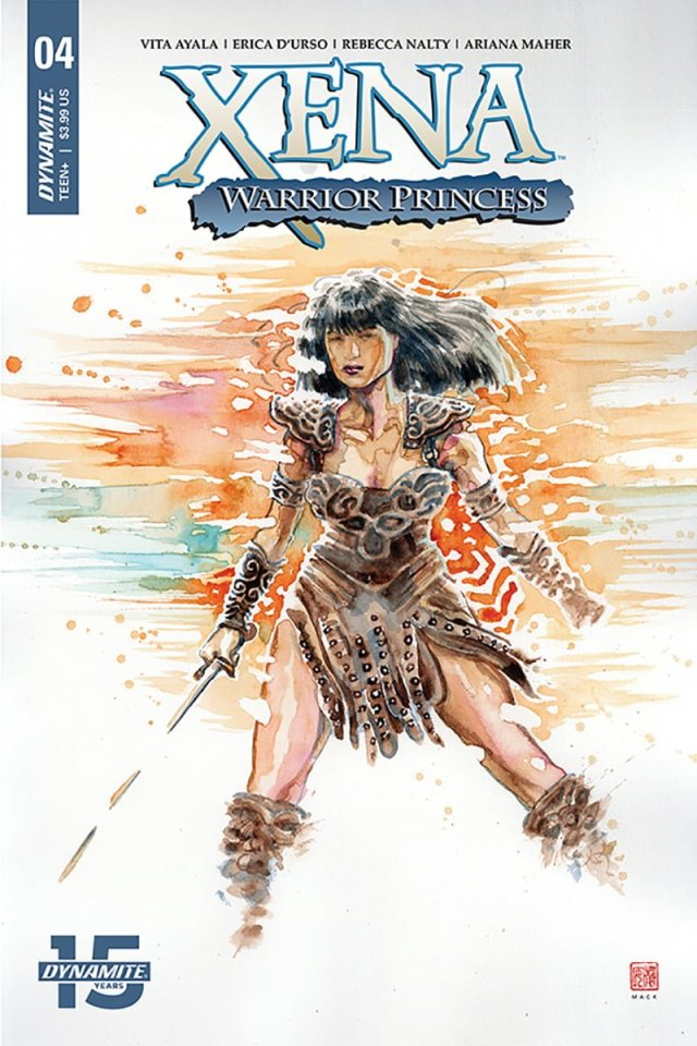 'Xena Warrior Princess #4' Cover Art