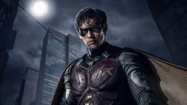 Titans show Grimdark Robin