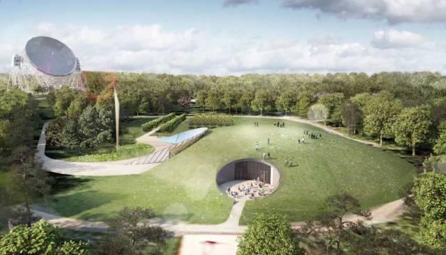 Artists' Impression of the First Light Pavilion, Image: Jodrell Bank