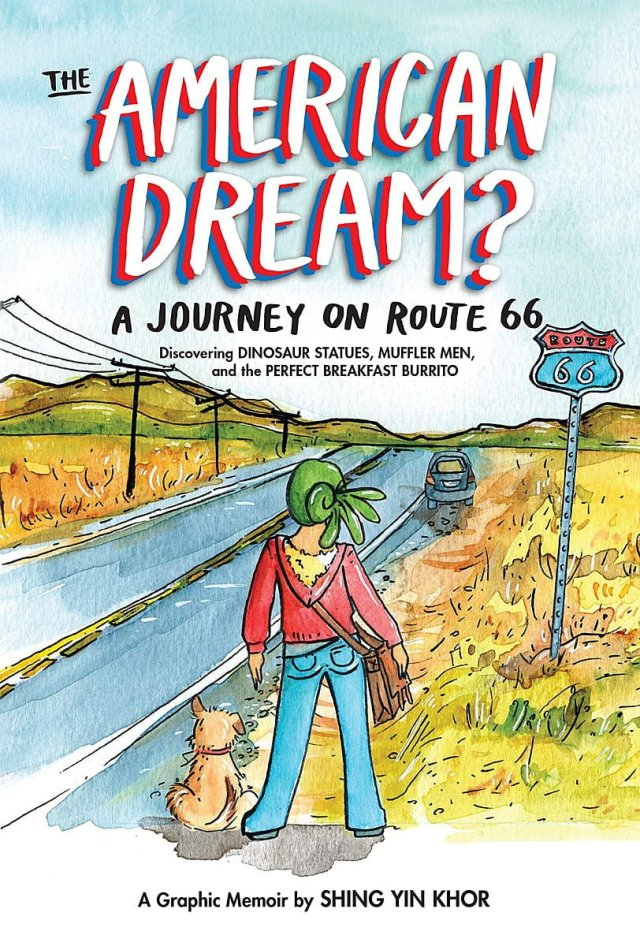 Cover Art for 'The American Dream? A Journey on Route 66'