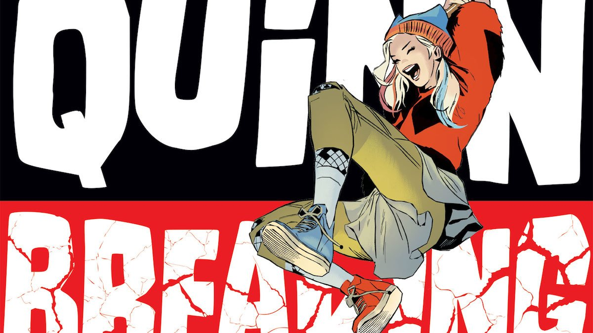 Harley Quinn Breaking Glass cover