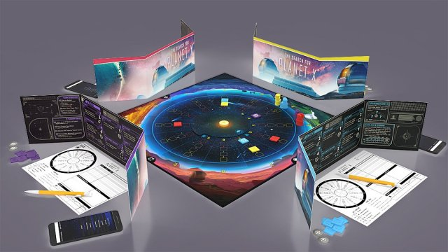 A Game of The Search for Planet X in Progress, Image: Foxtrot Games
