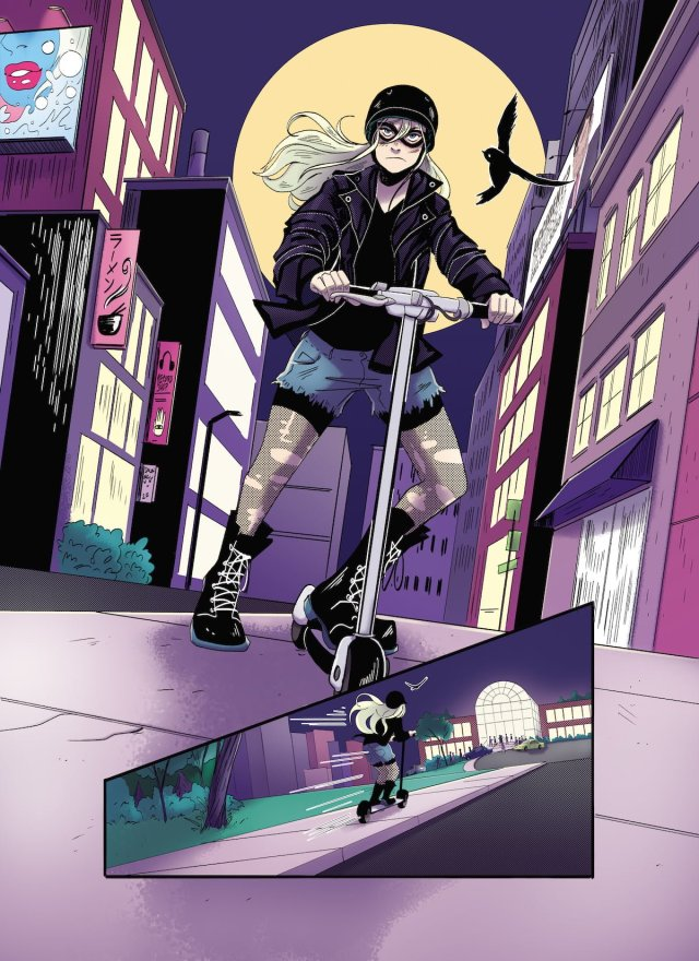 McGee's Black Canary costume