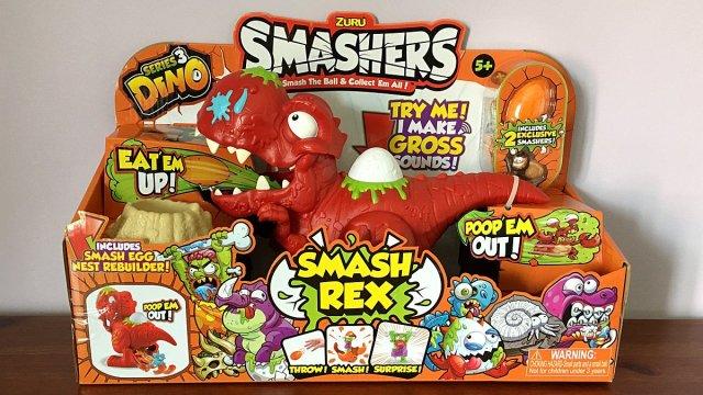 Dino Smashers Smash Rex, Image: Sophie Brown