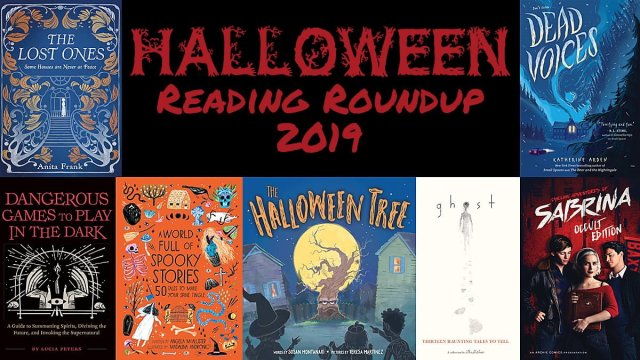 Halloween Reading Roundup 2019, Image: Sophie Brown, Covers via Publishers as Noted Below