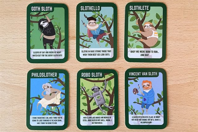 Super Slow Sloths Characters, Image: Sophie Brown