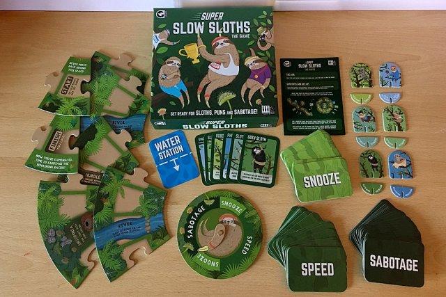 Super Slow Sloths Components, Image: Sophie Brown