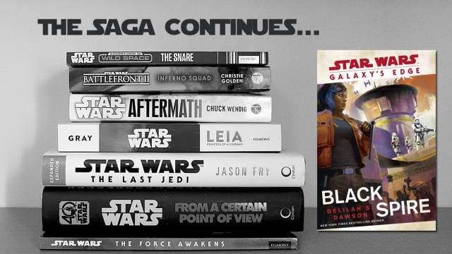 The Saga Continues, Galaxy's Edge: Black Spire, Cover Image: Century