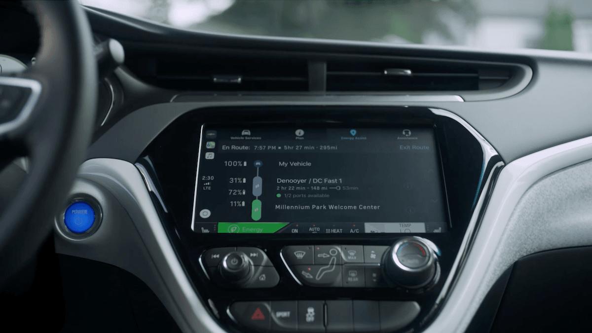 2020 Chevy Bolt EV road trip