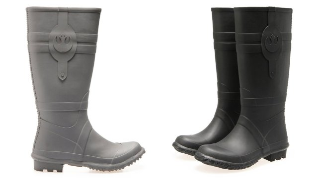 Resistance Rain Boots in Grey and Black, Images: Po-Zu