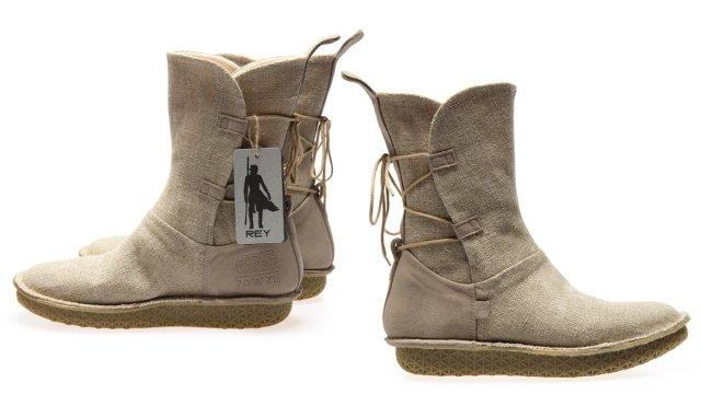 Rey Natural Linen Boots, Images: Po-Zu