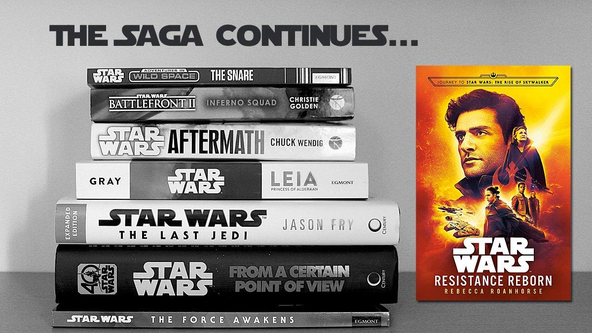 The Saga Continues, Resistance Reborn: Cover Image: Del Rey