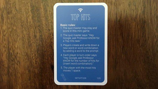 Top Hits Card, Image: Sophie Brown
