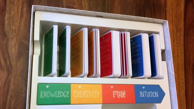 kNow! Cards in Storage, Image: Sophie Brown