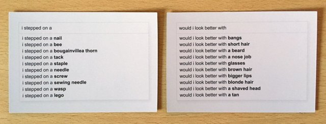 Sample Answers, Image: Sophie Brown
