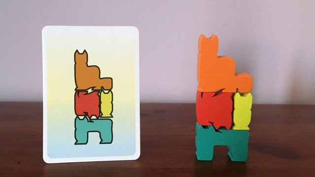 Matching a Card with a Stack of Pieces, Image: Sophie Brown