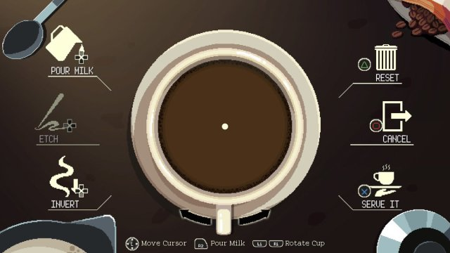 The Latte Art Screen, Image: Chorus Worldwide