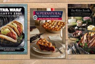 3 Cookbooks Inspired by Fandoms, Cover Images Insight Editions, Background Needpix