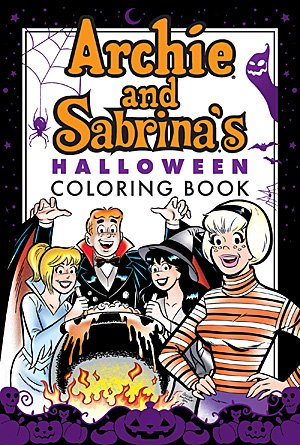 Archie and Sabrina's Halloween Coloring Book, Image Archie