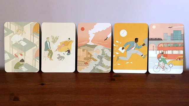 Being Unprepared, Family, Disasters, Being Late, and Transport Cards, Image Sophie Brown