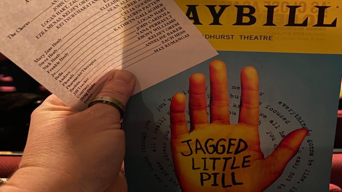 Jagged Little Pill The Musical Playbill
