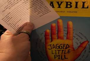 Jagged Little Pill The Musical Playbill