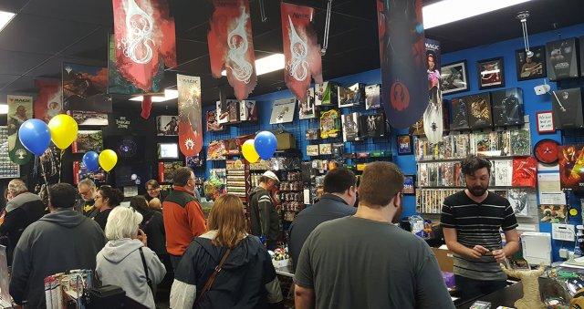 Krum's World Comic Shop in Winter Garden Florida before COVID-19