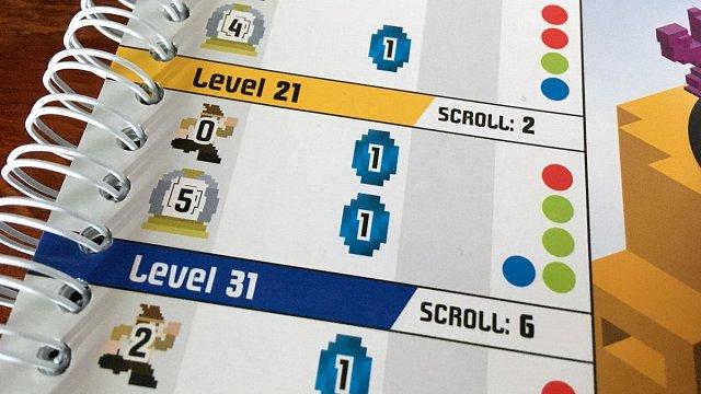 Level Setup Example, Image Sophie Brown