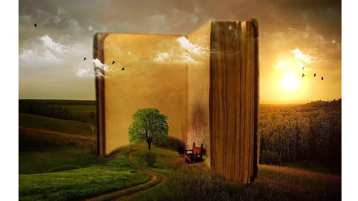 Dive into a good story. \ Image: Pixabay