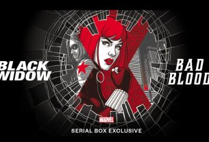 Marvel's Black Widow: Bad Blood, Image Serial Box