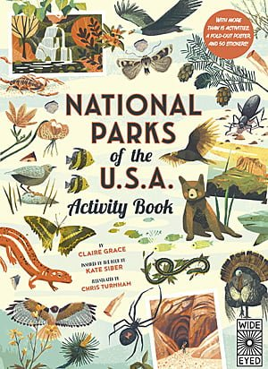 National Parks of the USA Activity Book, Image Wide Eyed Editions